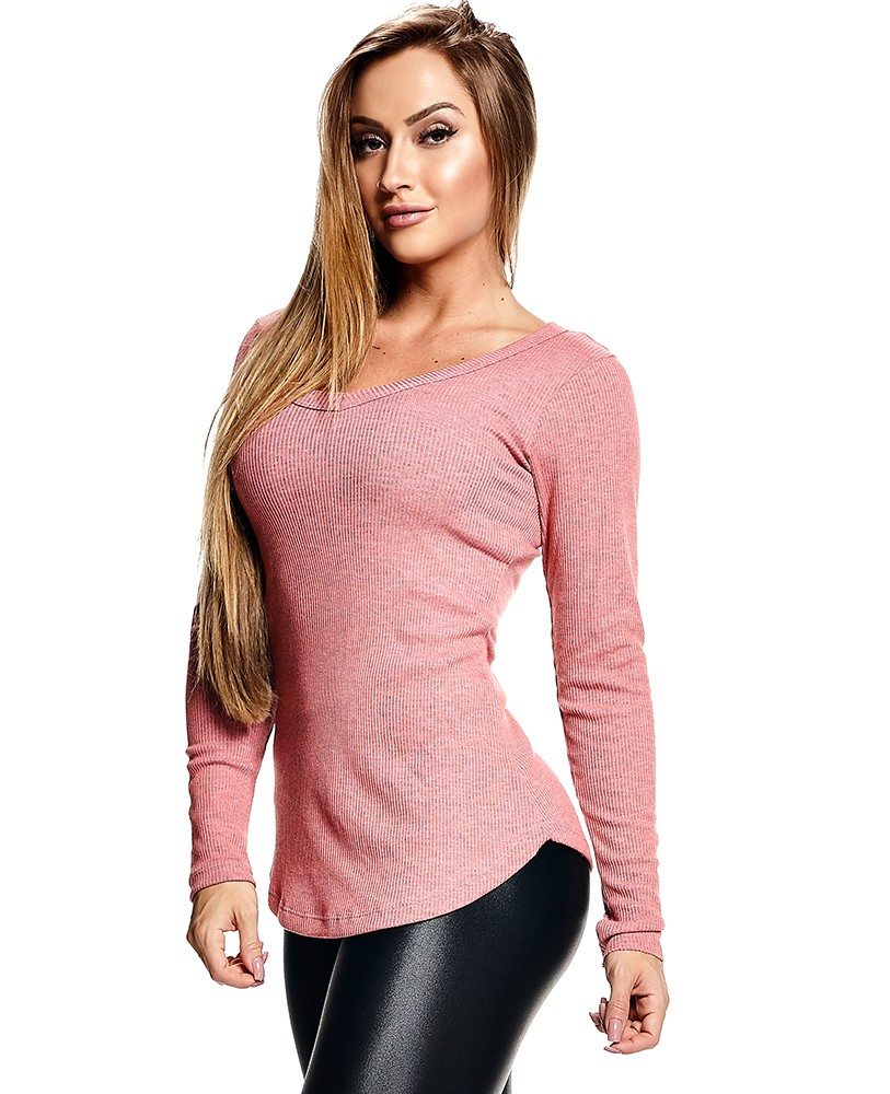 15a6b51ce5832 Let'sGym - BLUSA RIBANA BLANCHE