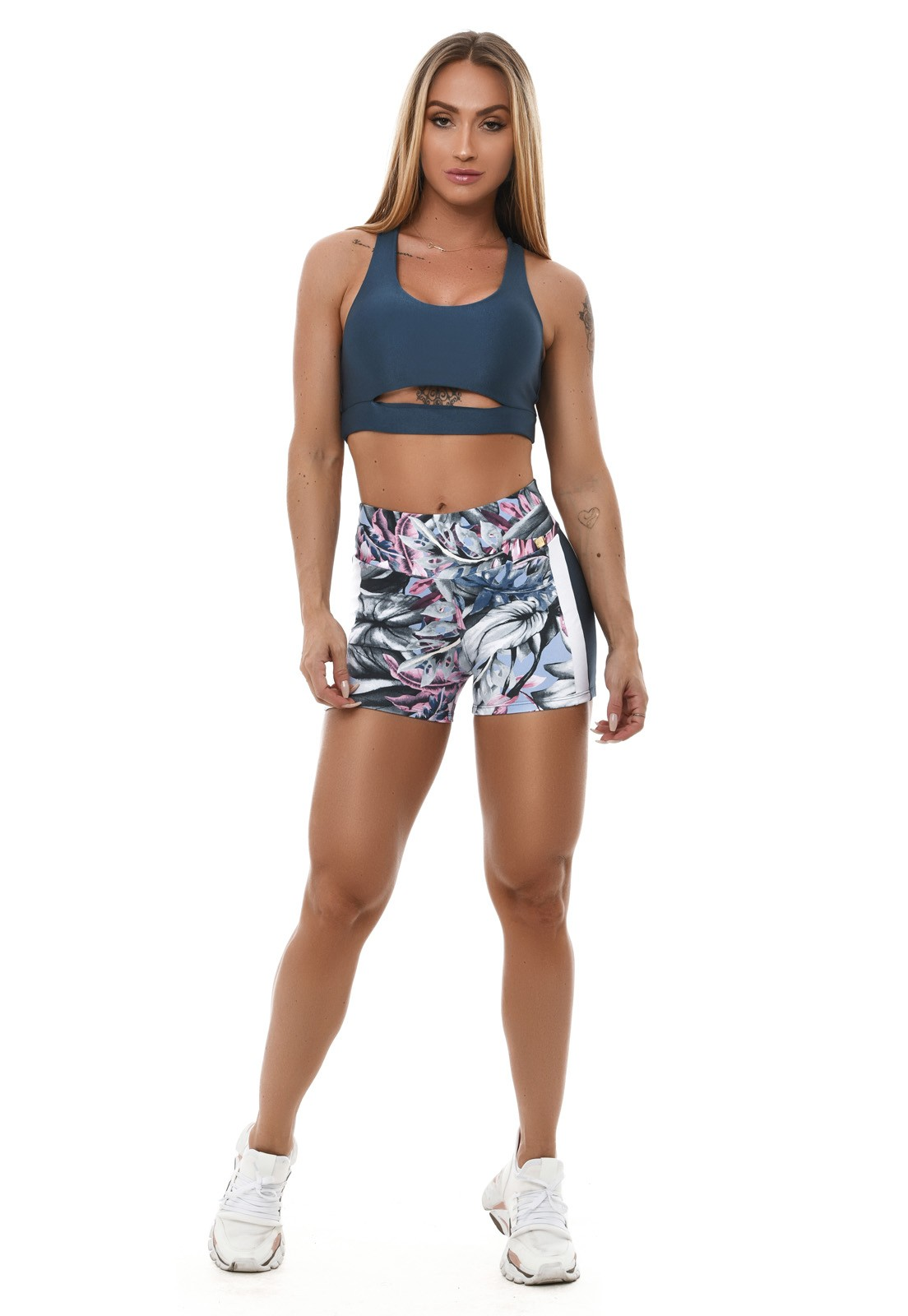 Short Hot Pant Let'sGym Blooming