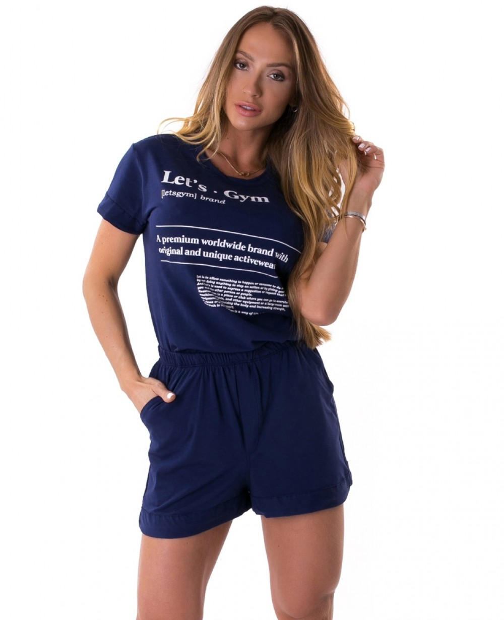T-Shirt Let'sGym Classy Chic