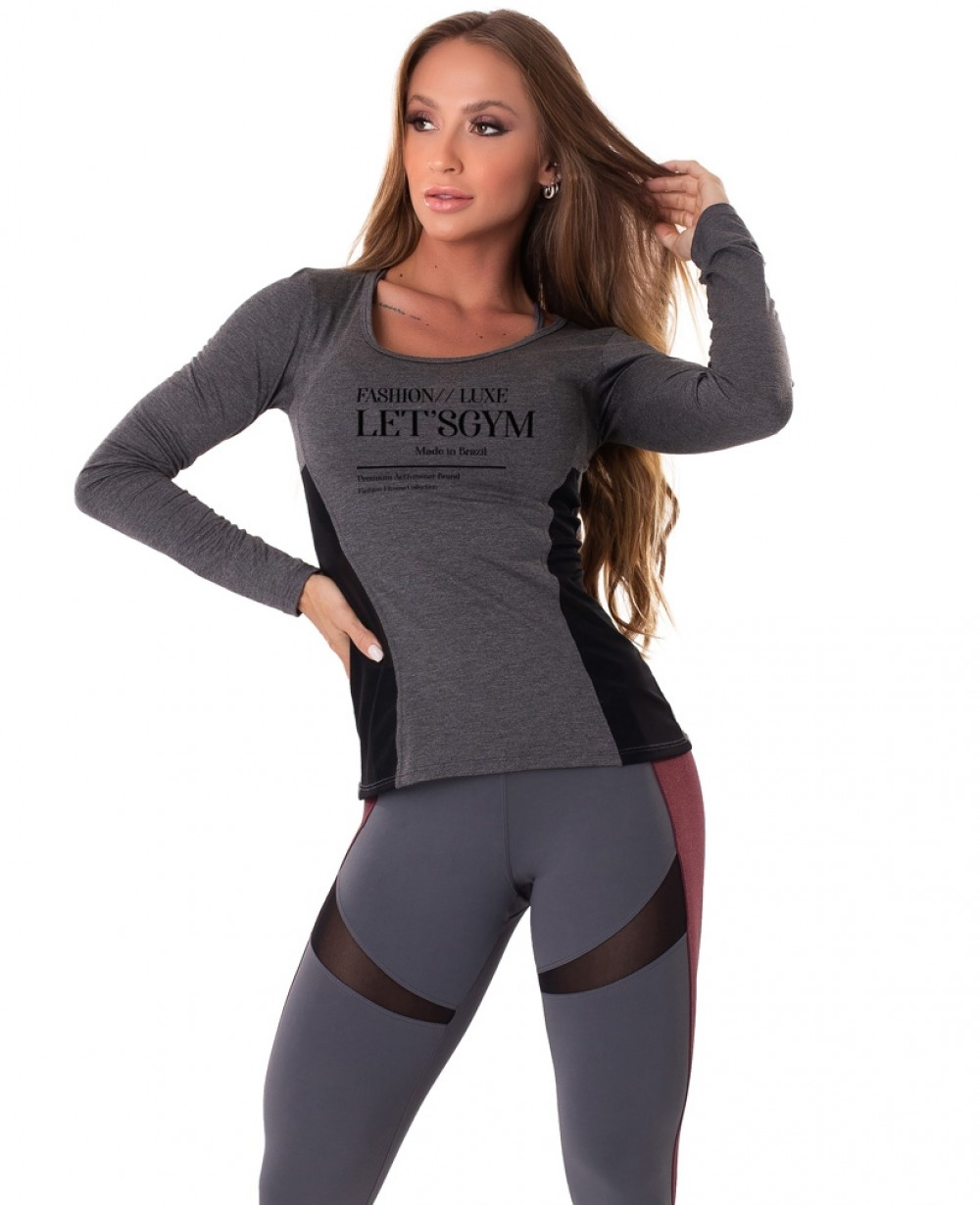 Blusa Let'sGym Delicated
