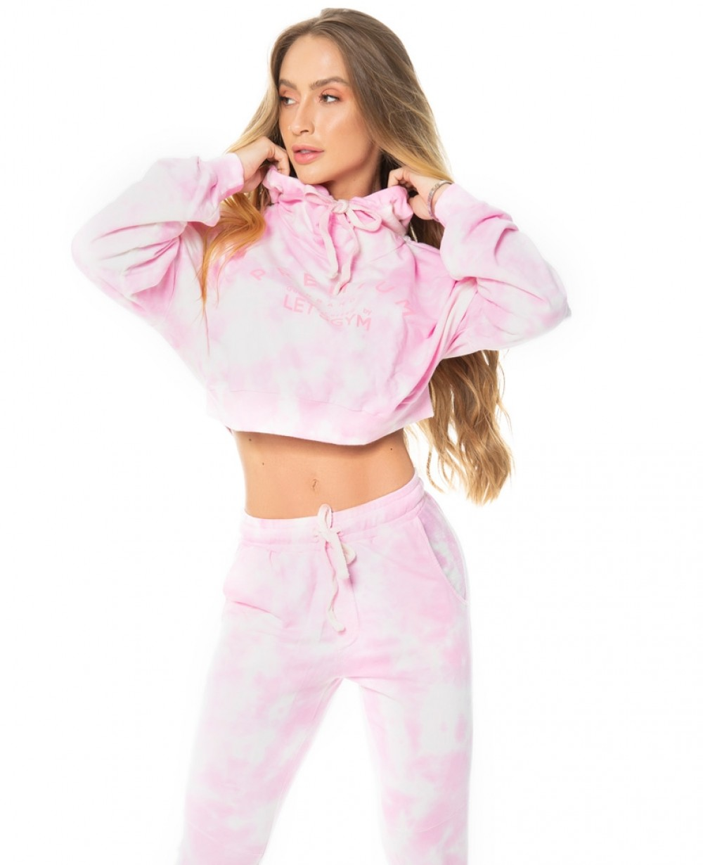 Cropped Let'sGym Tie Dye