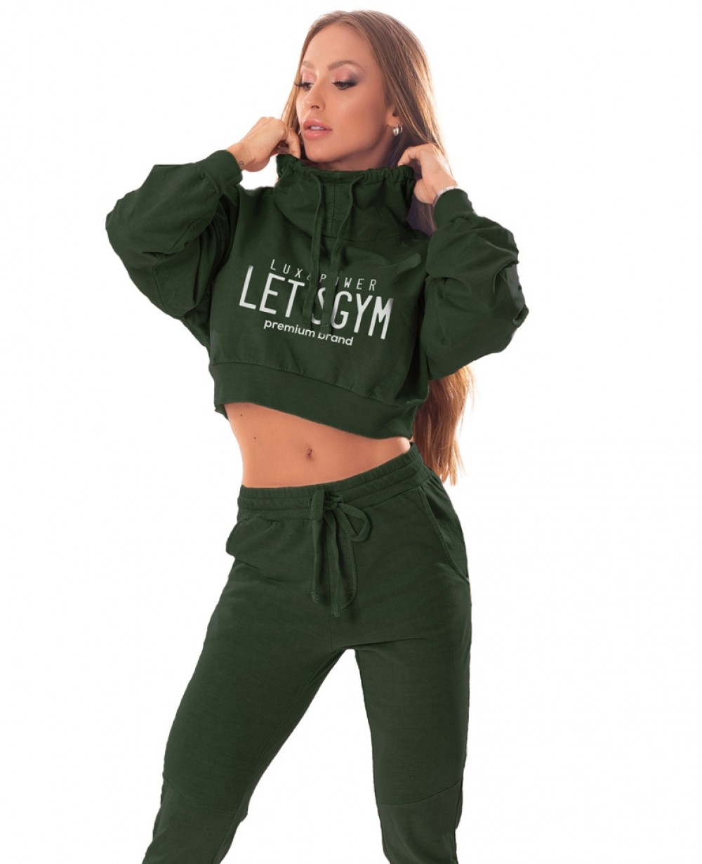 Cropped Let'sGym Power Fashion