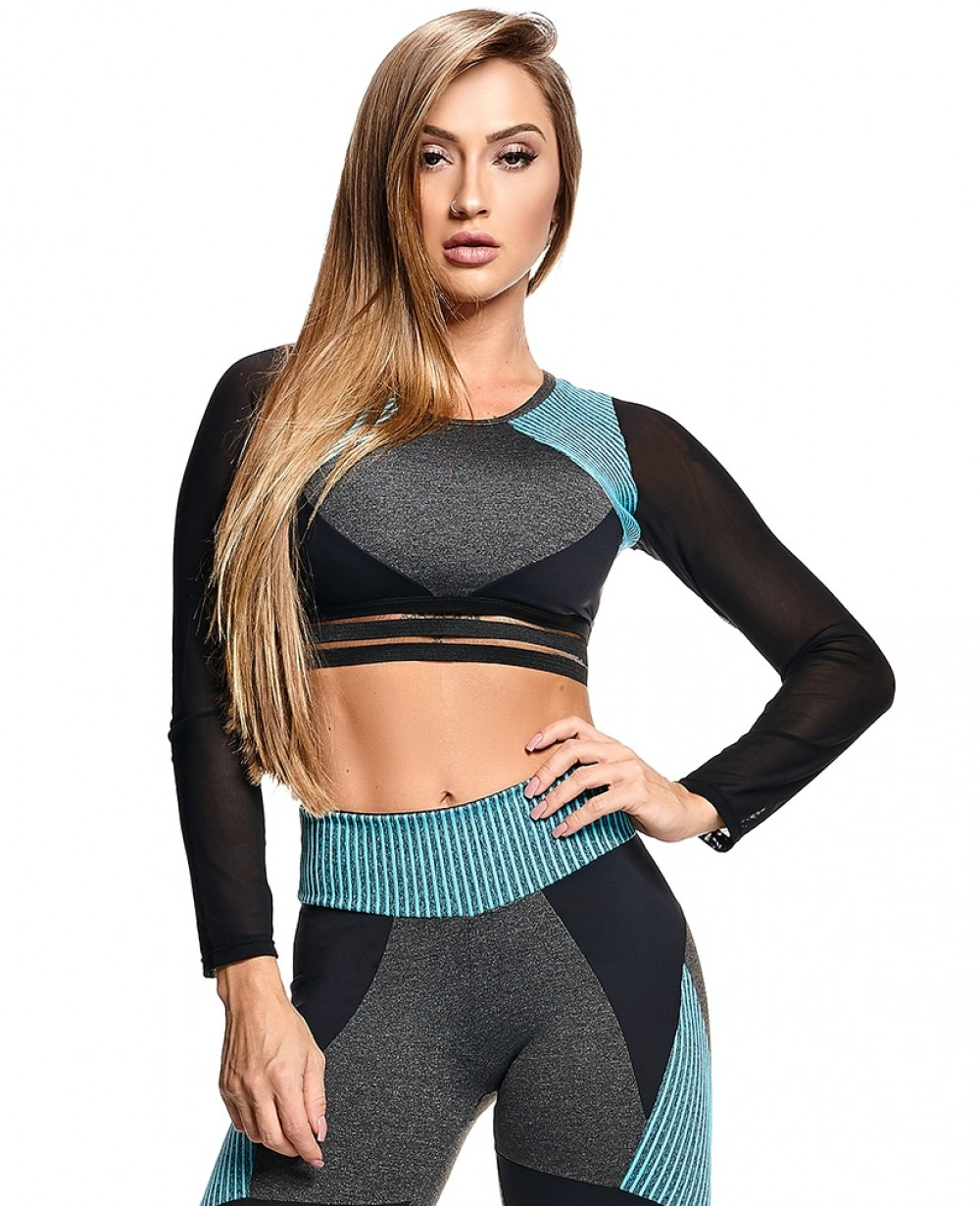 CROPPED ACTIVE STRAPPYS