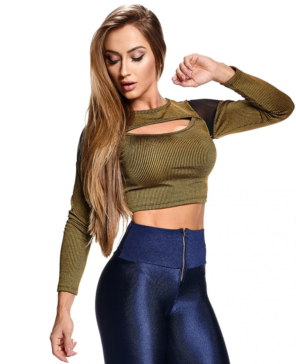Cropped Let'sGym Ribana Chic