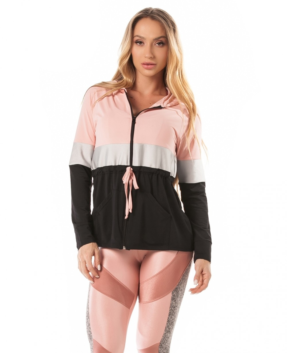 Cardigan Let'sGym Dry Color Block