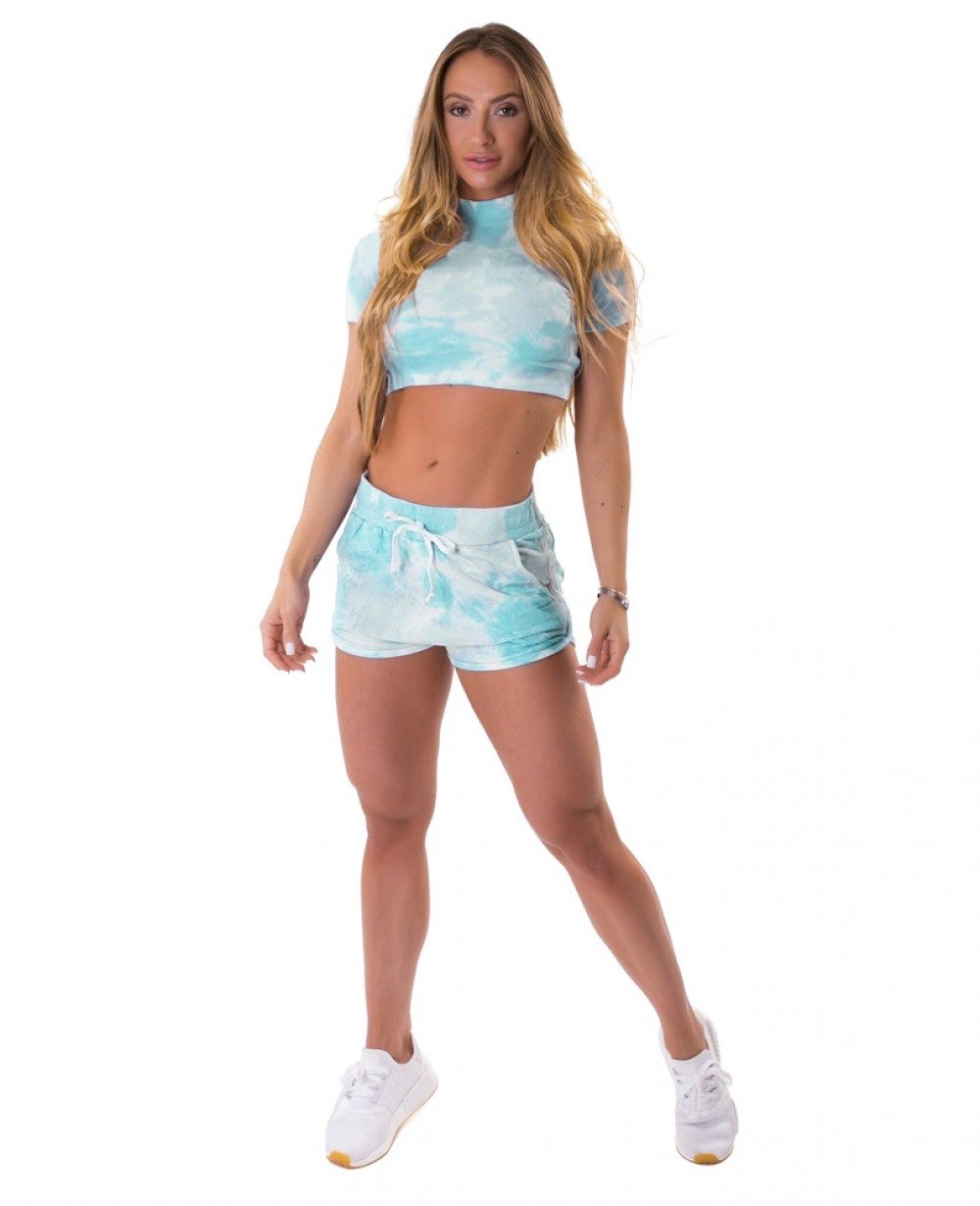 Short Let'sGym Tie Dye Fashion