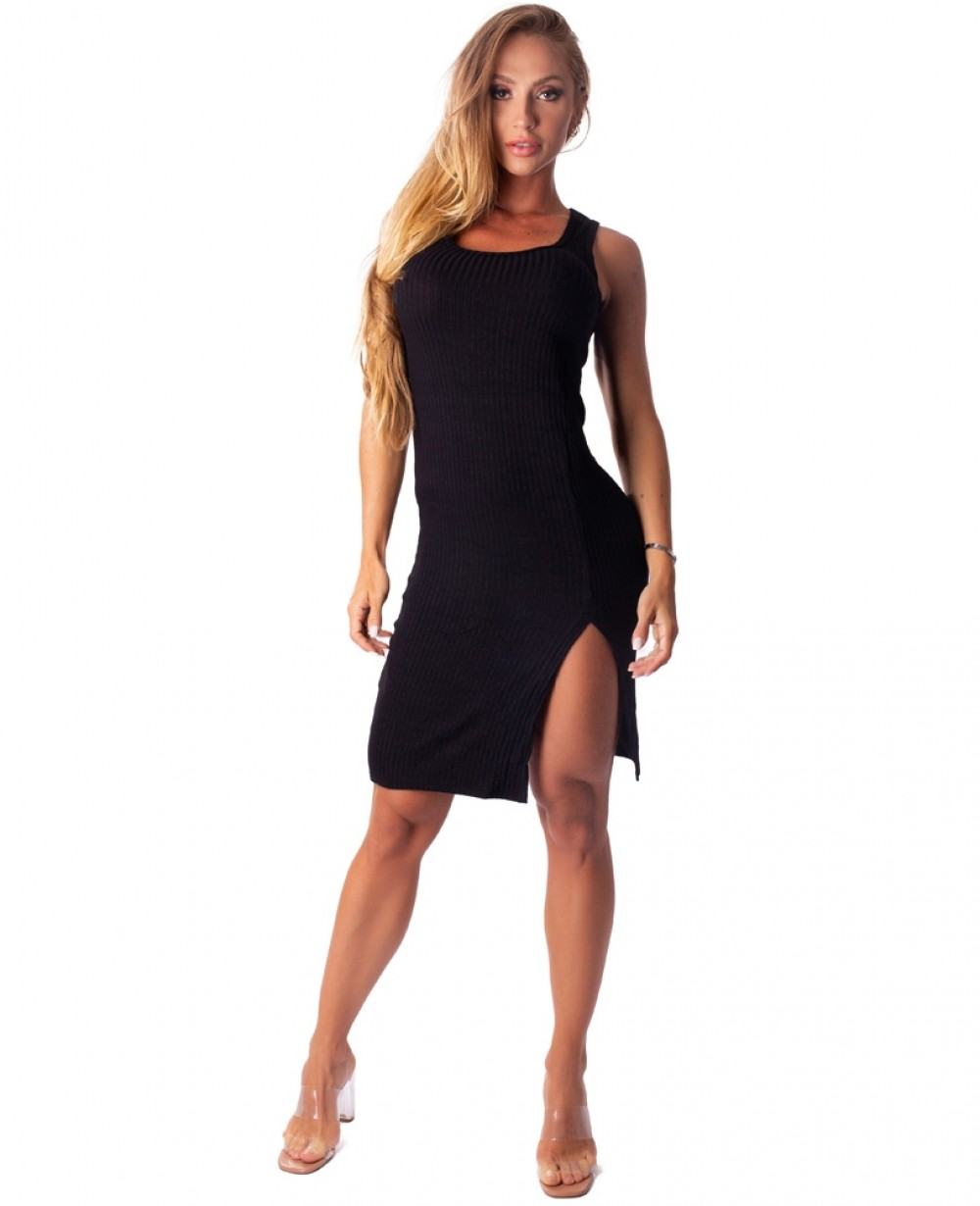 Vestido Let'sGym Canelado Lux and Power