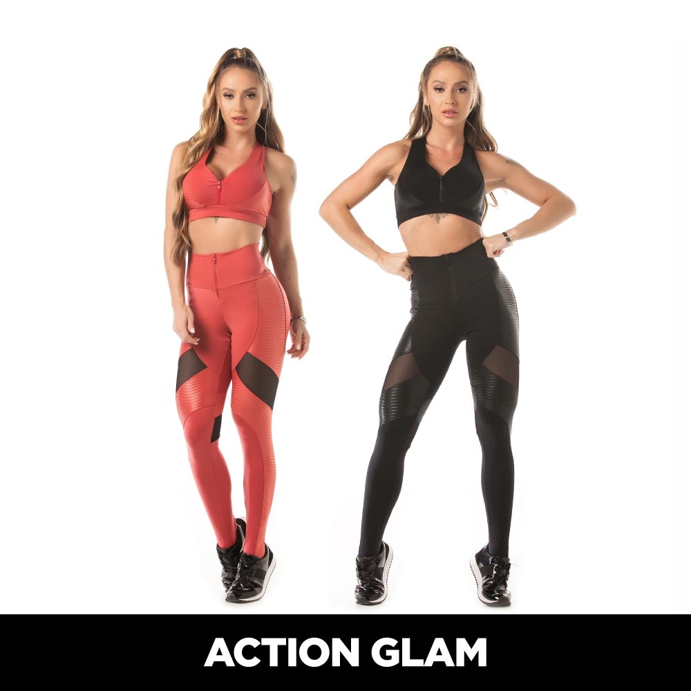 CONJUNTO ACTION GLAM