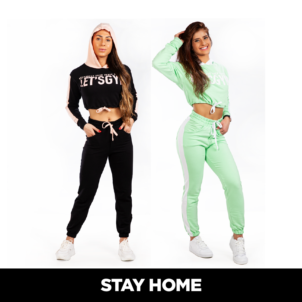 CONJUNTO FLEECE STAY HOME